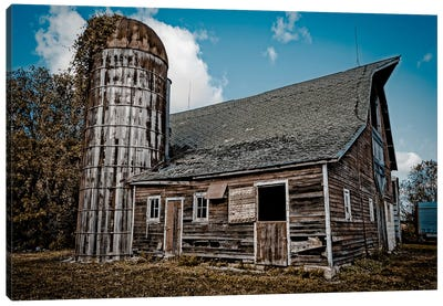 Farm Barn Canvas Art Print