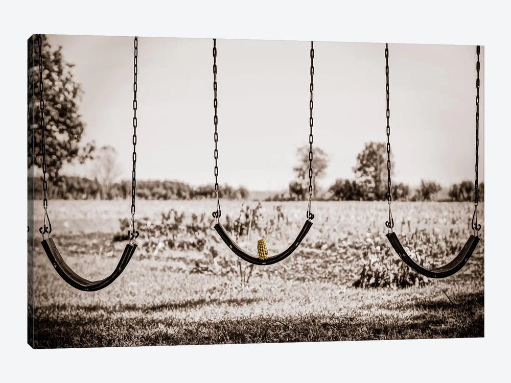 Three Swings by Eric Schech 1-piece Canvas Art Print