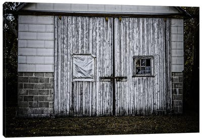 Farm Doors Canvas Art Print
