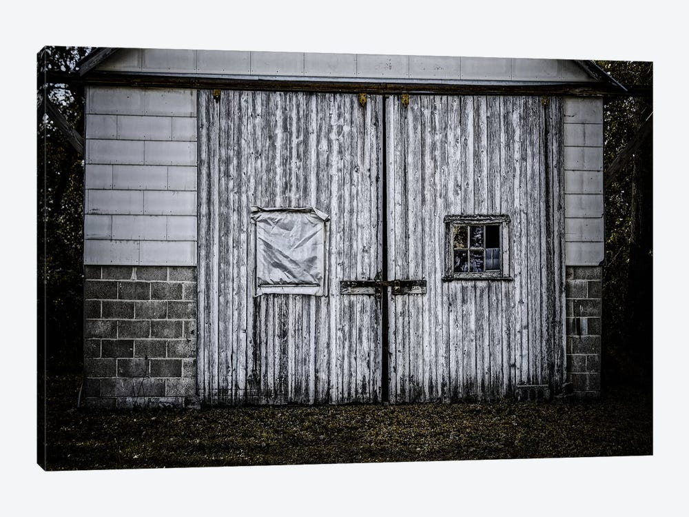 Farm Doors by Eric Schech 1-piece Canvas Artwork