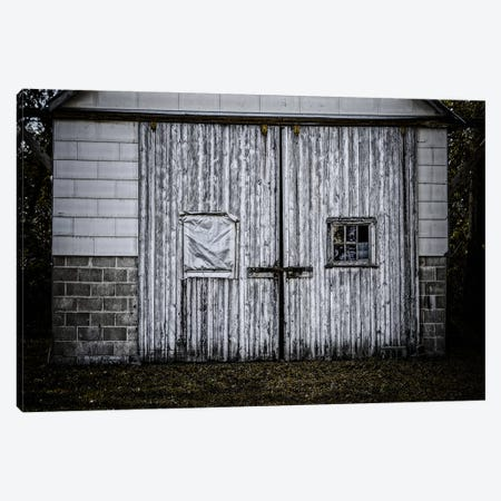 Farm Doors Canvas Print #ESC31} by Eric Schech Canvas Wall Art