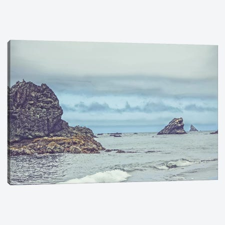 Crashing Waters Canvas Print #ESC3} by Eric Schech Art Print