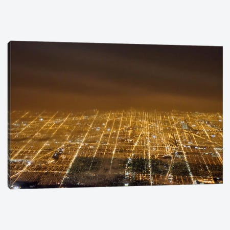 Gridlock Canvas Print #ESC47} by Eric Schech Canvas Art