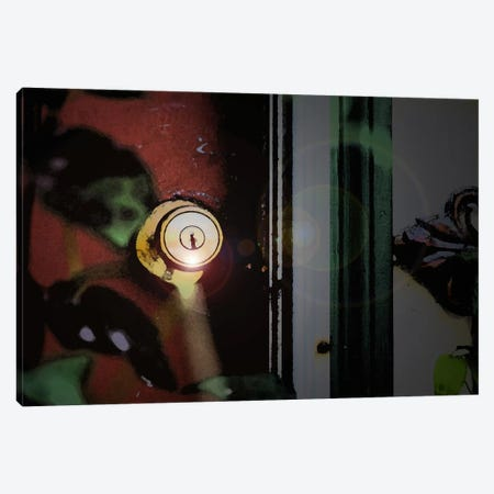 Door Knob Canvas Print #ESC56} by Eric Schech Canvas Print