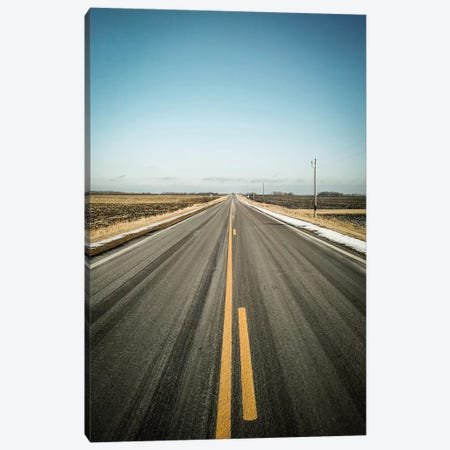 The Long Road Home Canvas Print #ESC63} by Eric Schech Canvas Art Print