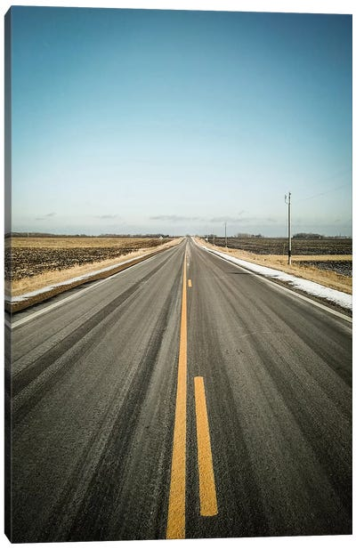 The Long Road Home Canvas Art Print