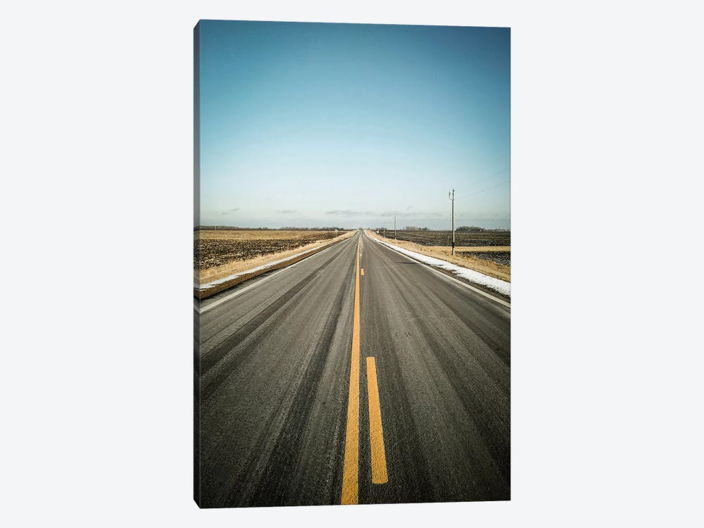 The Long Road Home by Eric Schech 1-piece Canvas Art Print