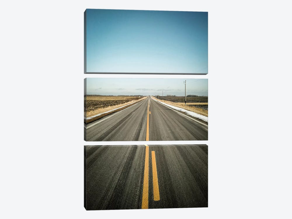 The Long Road Home by Eric Schech 3-piece Art Print