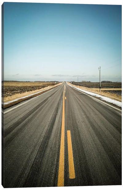 The Long Road Home Canvas Art Print