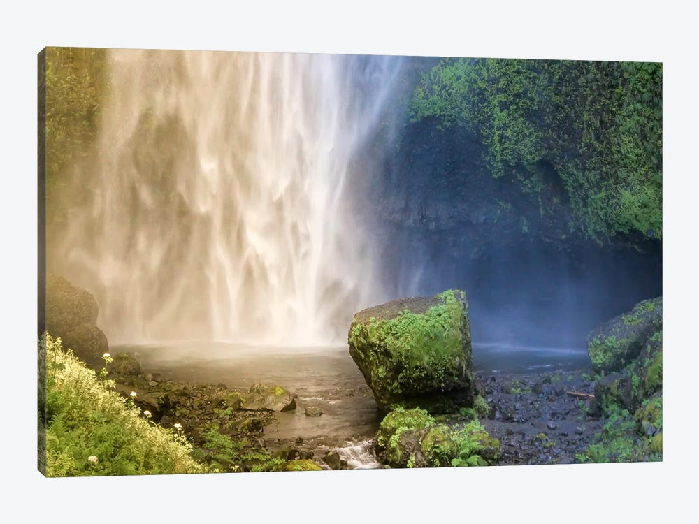 Into the Waterfall by Eric Schech 1-piece Canvas Art Print