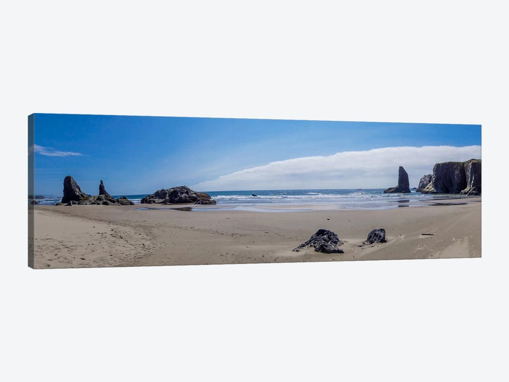 Rock Bay Panoramic by Eric Schech 1-piece Canvas Wall Art
