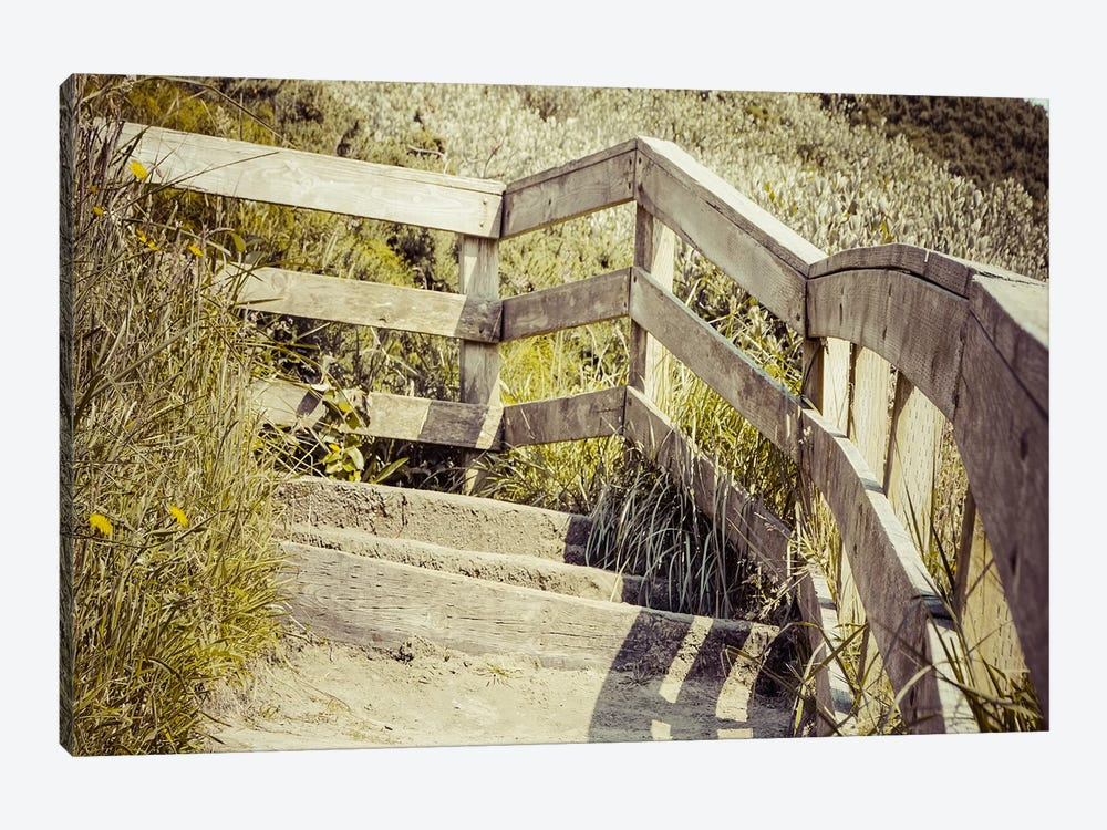 Steps Through Time by Eric Schech 1-piece Canvas Print