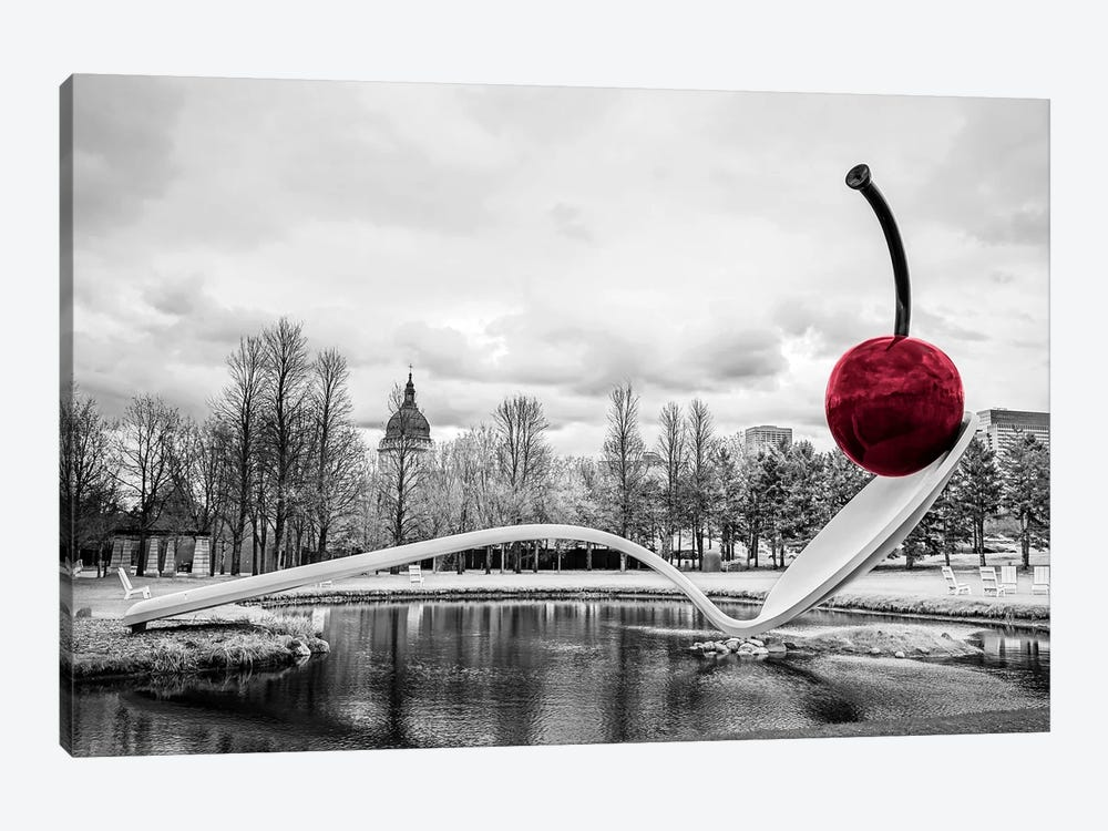 Cherry Spoon by Eric Schech 1-piece Canvas Print