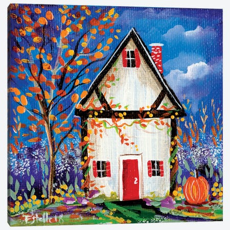 Fall Canvas Print #ESG10} by Estelle Grengs Canvas Artwork