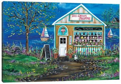 Ice Cream Shop Canvas Art Print