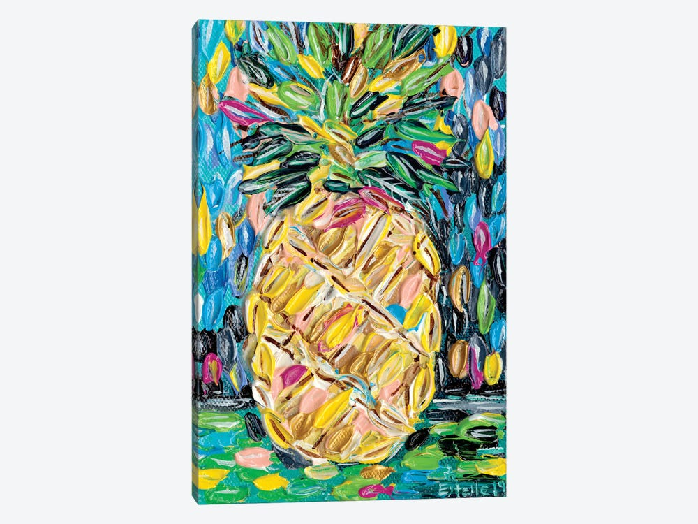 Pineapple Chunk by Estelle Grengs 1-piece Canvas Print