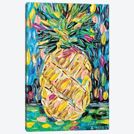 Pineapple Chunk Canvas Print #ESG17} by Estelle Grengs Art Print