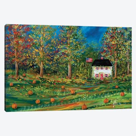 Pumpkin Spice Canvas Print #ESG19} by Estelle Grengs Canvas Wall Art