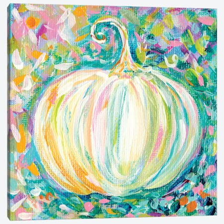Pumpkin Canvas Print #ESG20} by Estelle Grengs Art Print