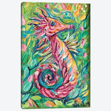Seahorse Canvas Print #ESG24} by Estelle Grengs Canvas Art