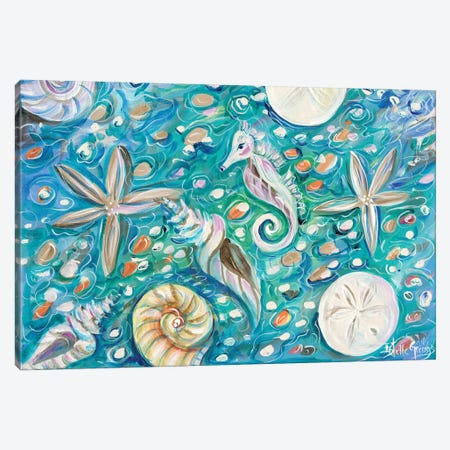 Seashore Canvas Print #ESG26} by Estelle Grengs Canvas Artwork