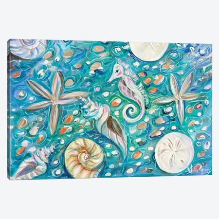 Seashore Canvas Print #ESG26} by Estelle Grengs Canvas Artwork