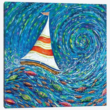 Set Sail Canvas Print #ESG27} by Estelle Grengs Canvas Artwork