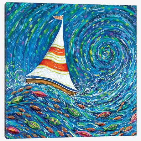Set Sail Canvas Print #ESG27} by Estelle Grengs Canvas Artwork