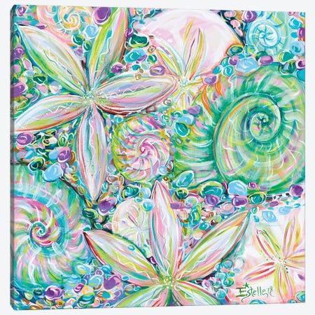 Beach Jewelry Canvas Print #ESG2} by Estelle Grengs Art Print