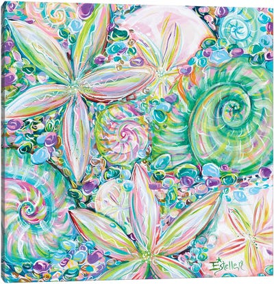 Beach Jewelry Canvas Art Print