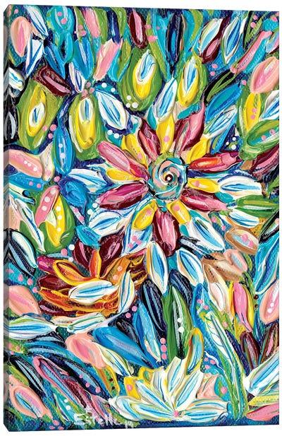 Flower Burst Canvas Art Print