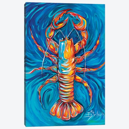 Lobster Bake Canvas Print #ESG32} by Estelle Grengs Canvas Art