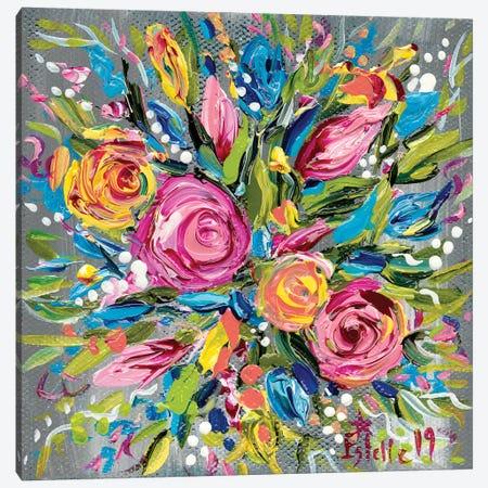Spring Bouquet Canvas Print #ESG35} by Estelle Grengs Canvas Print