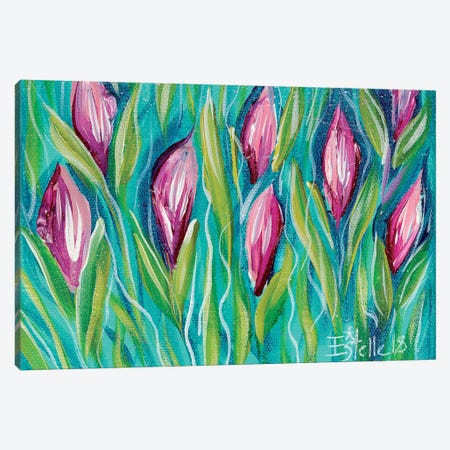 Tulips Canvas Print #ESG37} by Estelle Grengs Canvas Art Print