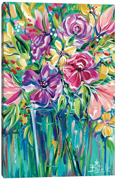 Fresh Flowers Canvas Art Print
