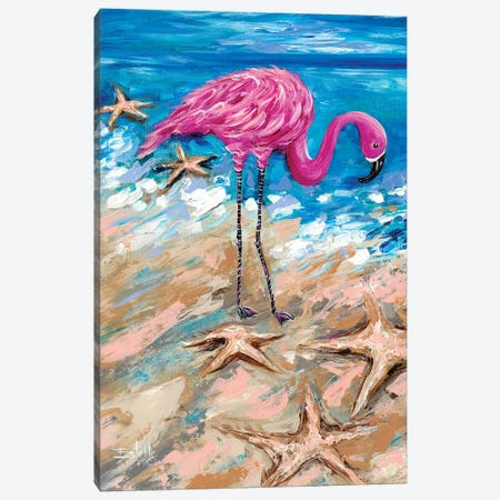 Flamingo of Bonaire Canvas Print #ESG40} by Estelle Grengs Canvas Print