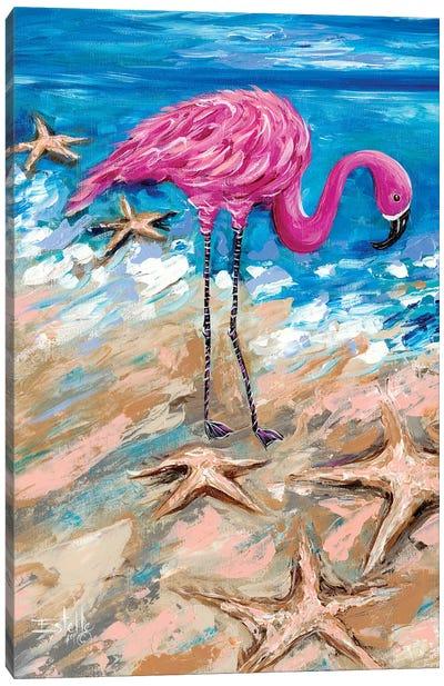 Flamingo of Bonaire Canvas Art Print