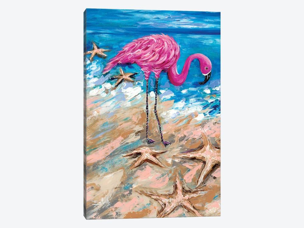 Flamingo of Bonaire by Estelle Grengs 1-piece Art Print