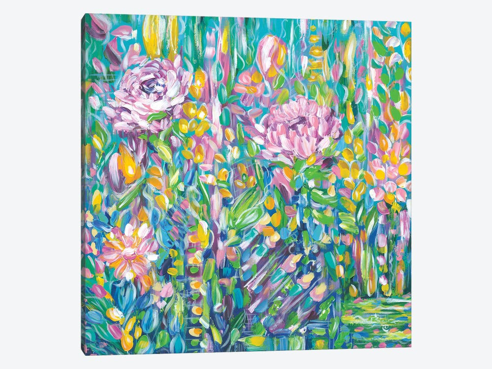 Field Of Flowers by Estelle Grengs 1-piece Canvas Print