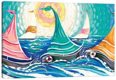Sailing II Canvas Art Print