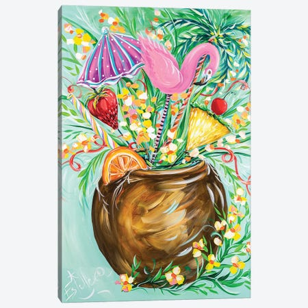 Something Fruity Canvas Print #ESG45} by Estelle Grengs Canvas Wall Art