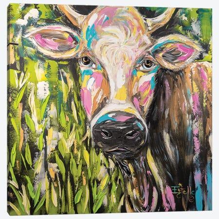 Full Of Bull Canvas Print #ESG46} by Estelle Grengs Canvas Artwork