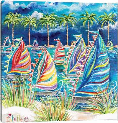 Come Sail Away Canvas Art Print