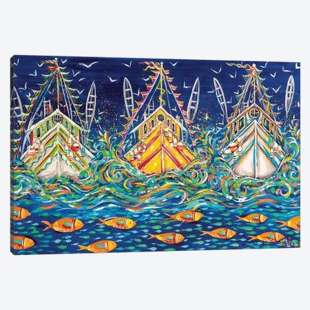 Seas The Day! Canvas Print #ESG51} by Estelle Grengs Canvas Art