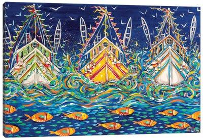 Seas The Day! Canvas Art Print
