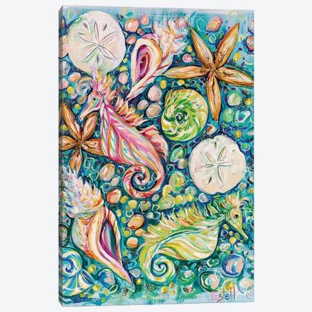 Conchology Canvas Print #ESG52} by Estelle Grengs Canvas Artwork