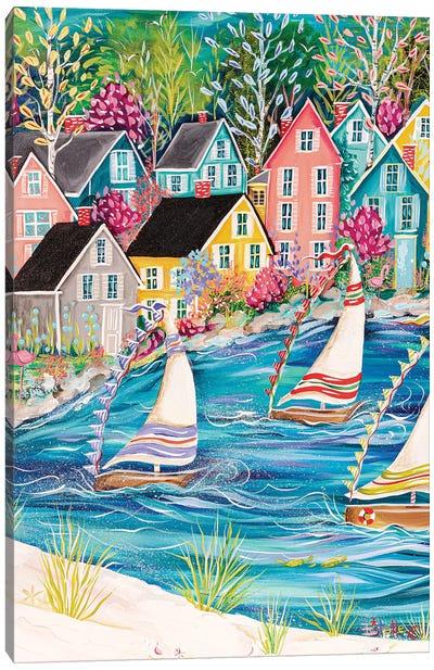Coastal Life Canvas Art Print