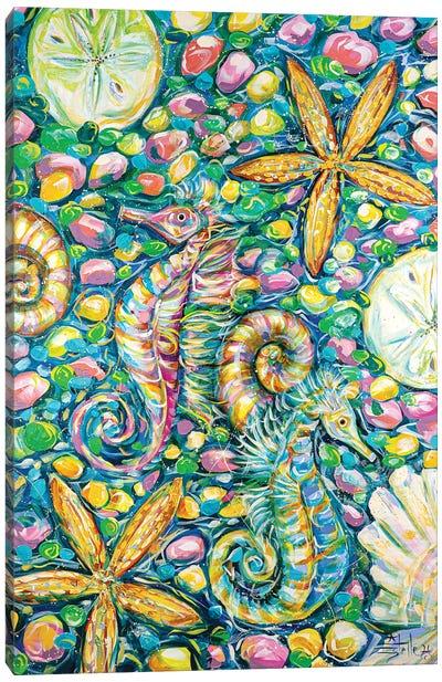 Sea Party Canvas Art Print