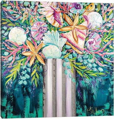 Coastal Bouquet Canvas Art Print