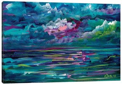Blue Seas Canvas Art Print